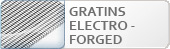 Electro-Forged gratings